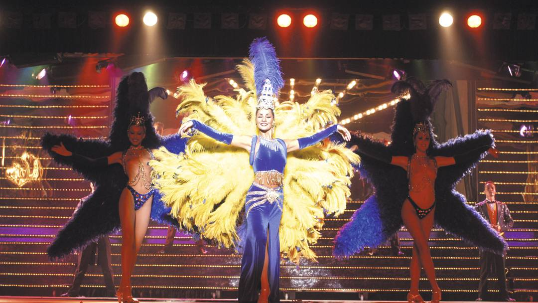 Dancers of the Benidorm Palace Show