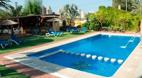 Camping with pool in Benidorm