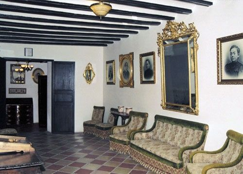 Interior of the Orduña House Museum